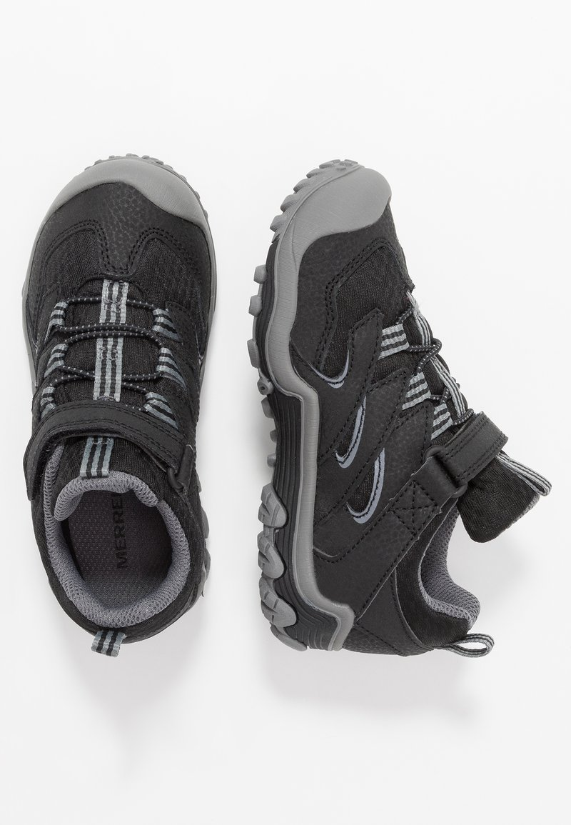 Merrell - CHAMELEON 7 LOW WTRPF - Zapatillas de senderismo - black/grey