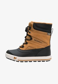 Merrell - SNOWBANK 2.0 WTPF - Snowboot/Winterstiefel - wheat/black - 0
