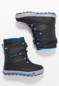 Merrell - SNOW BANK 2.0 WTRPF - Winter boots - black - 0