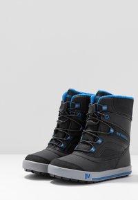 Merrell - SNOW BANK 2.0 WTRPF - Winter boots - black - 3