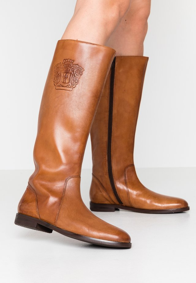 SUSAN - Boots - rio tan/modica brown