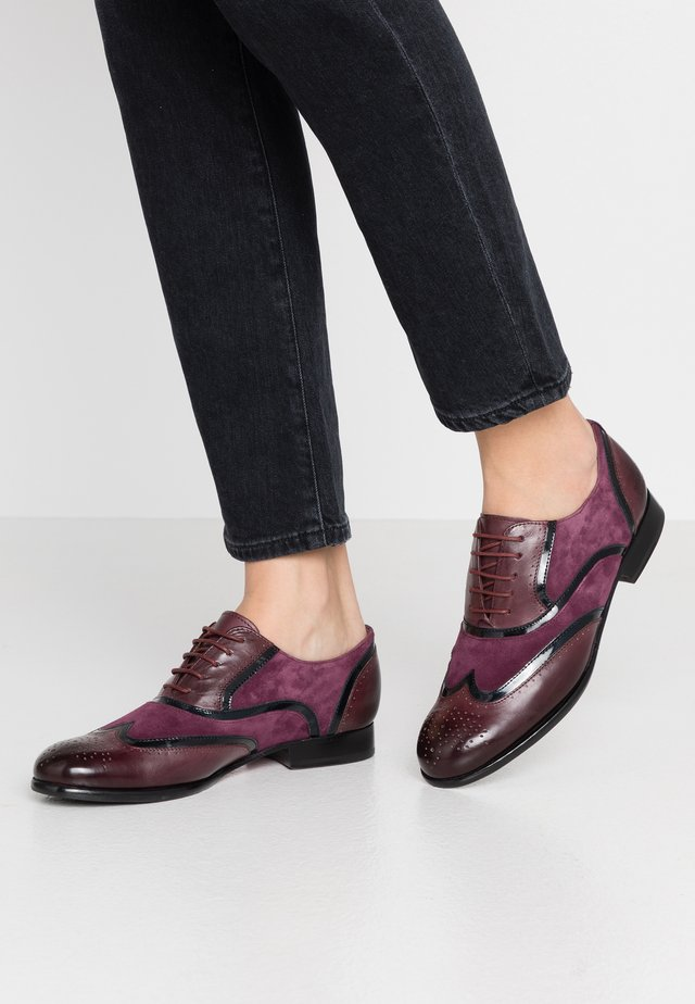 SALLY - Lace-ups - deep pink/oriental