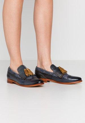 SELINA - Slippers - maroccan blue/olivine