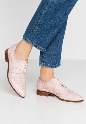 JESSY - Šněrovací boty - pink sault