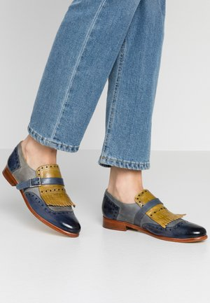 SELINA  - Slippers - maroccan blue/clearwater/olivine
