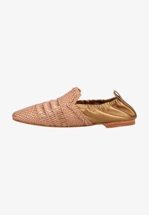 Slip-ons - rame/copper