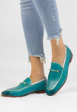 SCARLETT - Slip-ons - turquoise