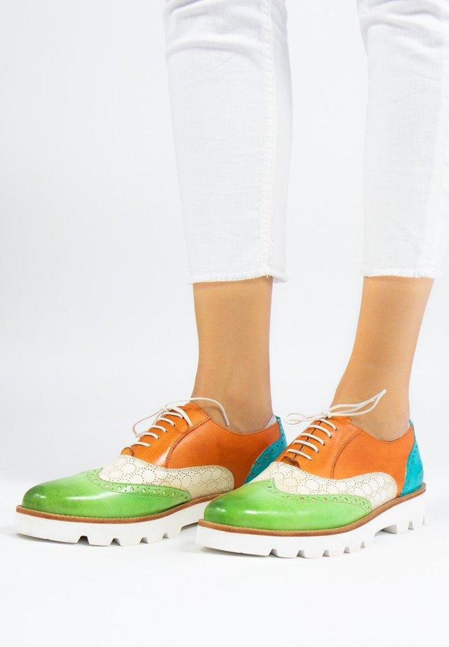 SELINA - Sznurowane obuwie sportowe - multicolor