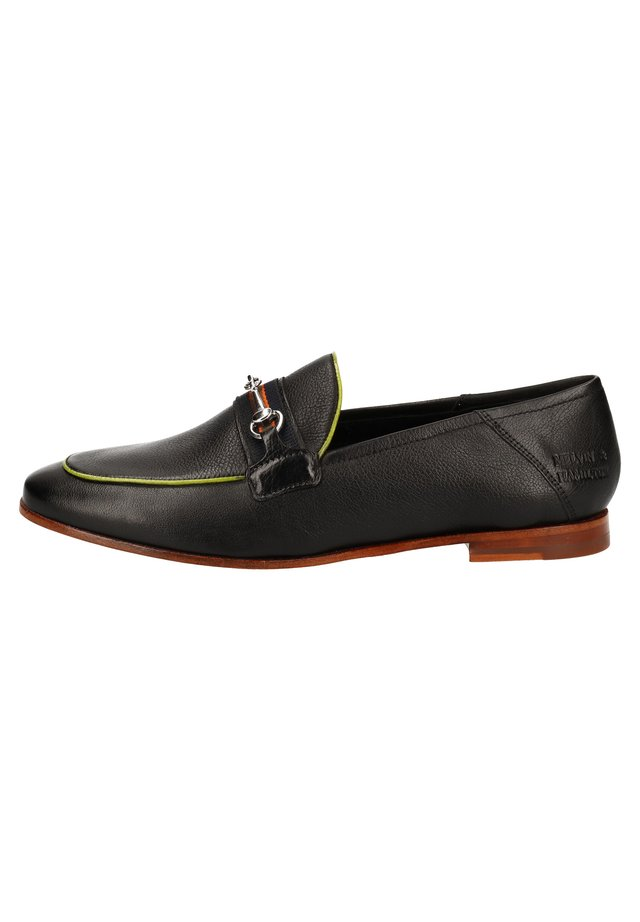 MELVIN & HAMILTON SLIPPER - Mocassins - black