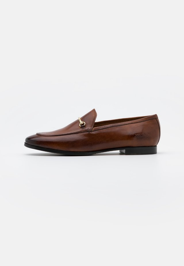 SCARLETT - Mocassins - pisa wood/flex brown
