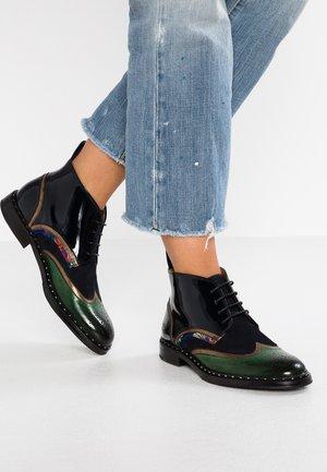 SALLY - Boots à talons - dark forest