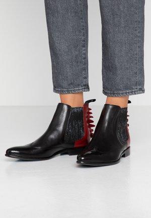 KEIRA  - Boots à talons - black/ruby