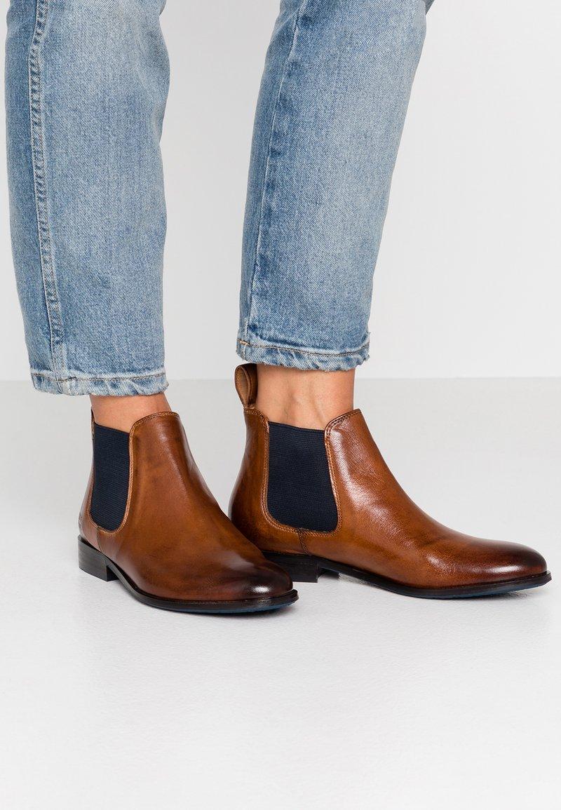 Melvin & Hamilton - SALLY  - Ankle Boot - rio wood