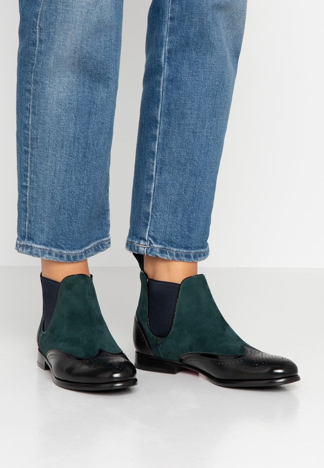 SALLY  - Ankle boots - petrol