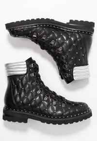 Melvin & Hamilton - BONNIE - Cowboy/biker ankle boot - black - 3
