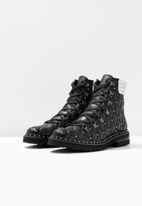 Melvin & Hamilton - BONNIE - Cowboy/biker ankle boot - black - 4