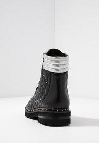 Melvin & Hamilton - BONNIE - Cowboy/biker ankle boot - black - 5
