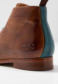 Melvin & Hamilton - SELINA  - Ankle boot - tan - 2