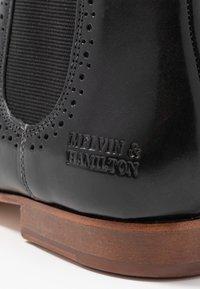 Melvin & Hamilton - SALLY - Ankle boots - black - 2