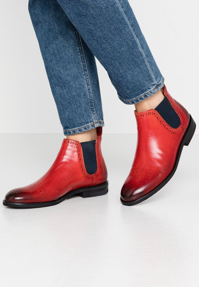SALLY - Ankle boots - venice ruby / navy
