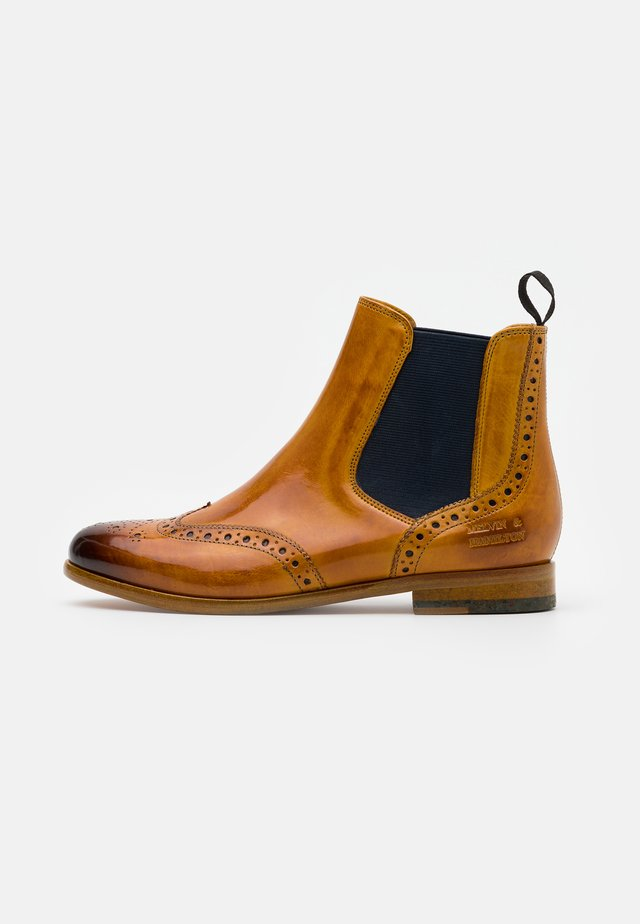SELINA  - Ankle boots - yellow/navy