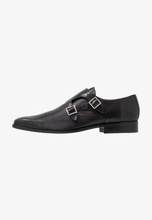 RICO - Elegantní nazouvací boty - black