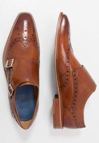 Melvin & Hamilton - MARTIN - Elegantní nazouvací boty - tan - 1