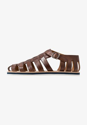 Sandals - mid brown