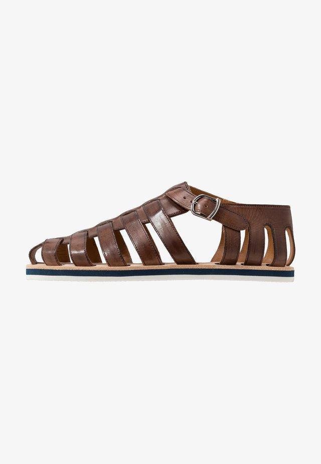 Sandaler - mid brown