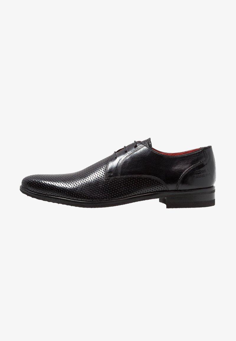 Melvin & Hamilton - TONI  - Elegantní šněrovací boty - black