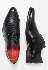 Melvin & Hamilton - TONI  - Elegantní šněrovací boty - black - 1