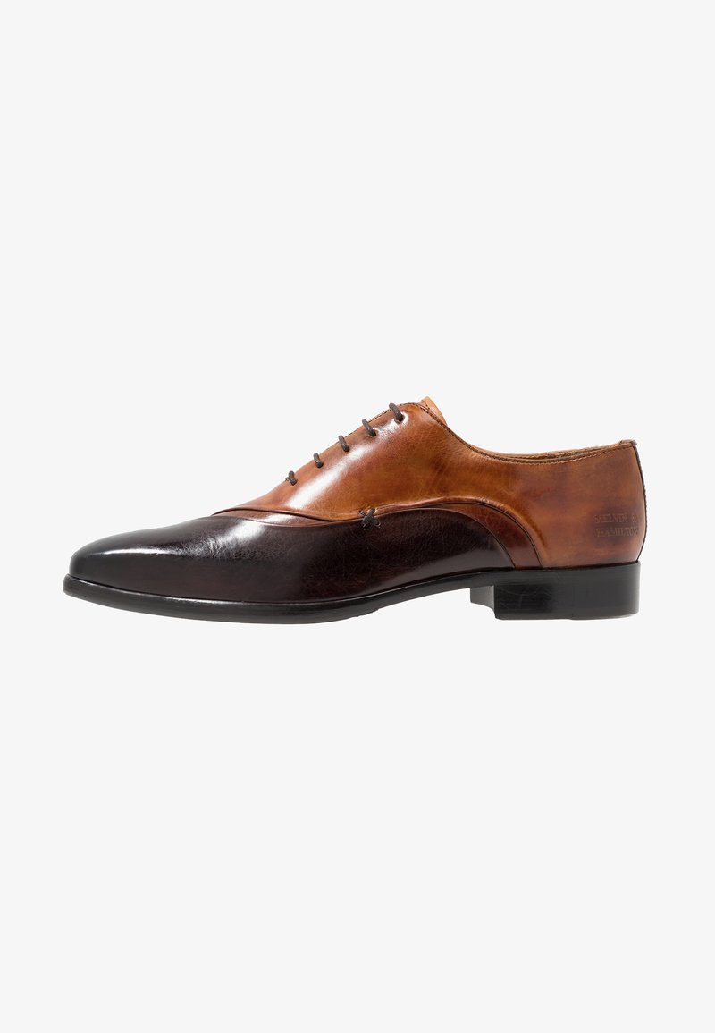 Melvin & Hamilton - LANCE - Zapatos de vestir - mogano/wood/tan