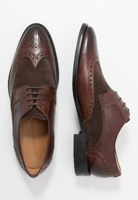Melvin & Hamilton - Smart lace-ups - mogano/brown/rich tan/navy - 1