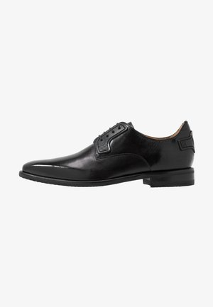 DAVE - Stringate eleganti - black