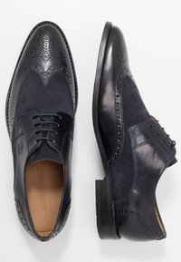 Melvin & Hamilton - Derbies & Richelieus - navy - 1