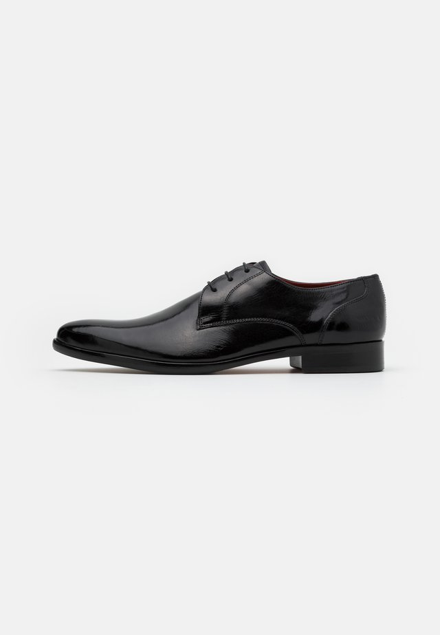 TONI - Derbies & Richelieus - black