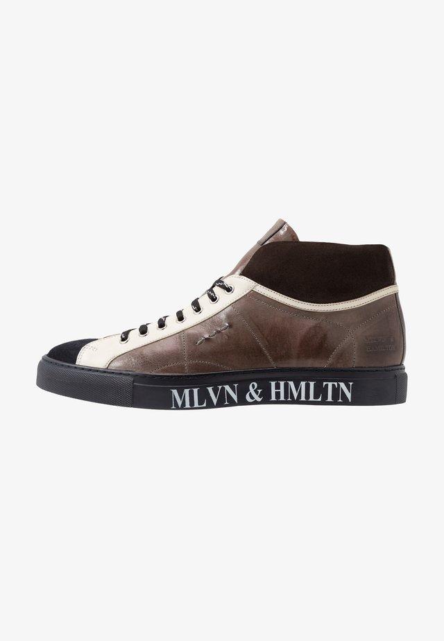 HARVEY 13 - Sneakersy wysokie - navy/stone