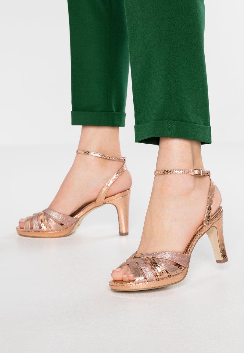 Menbur - High heeled sandals - even rose