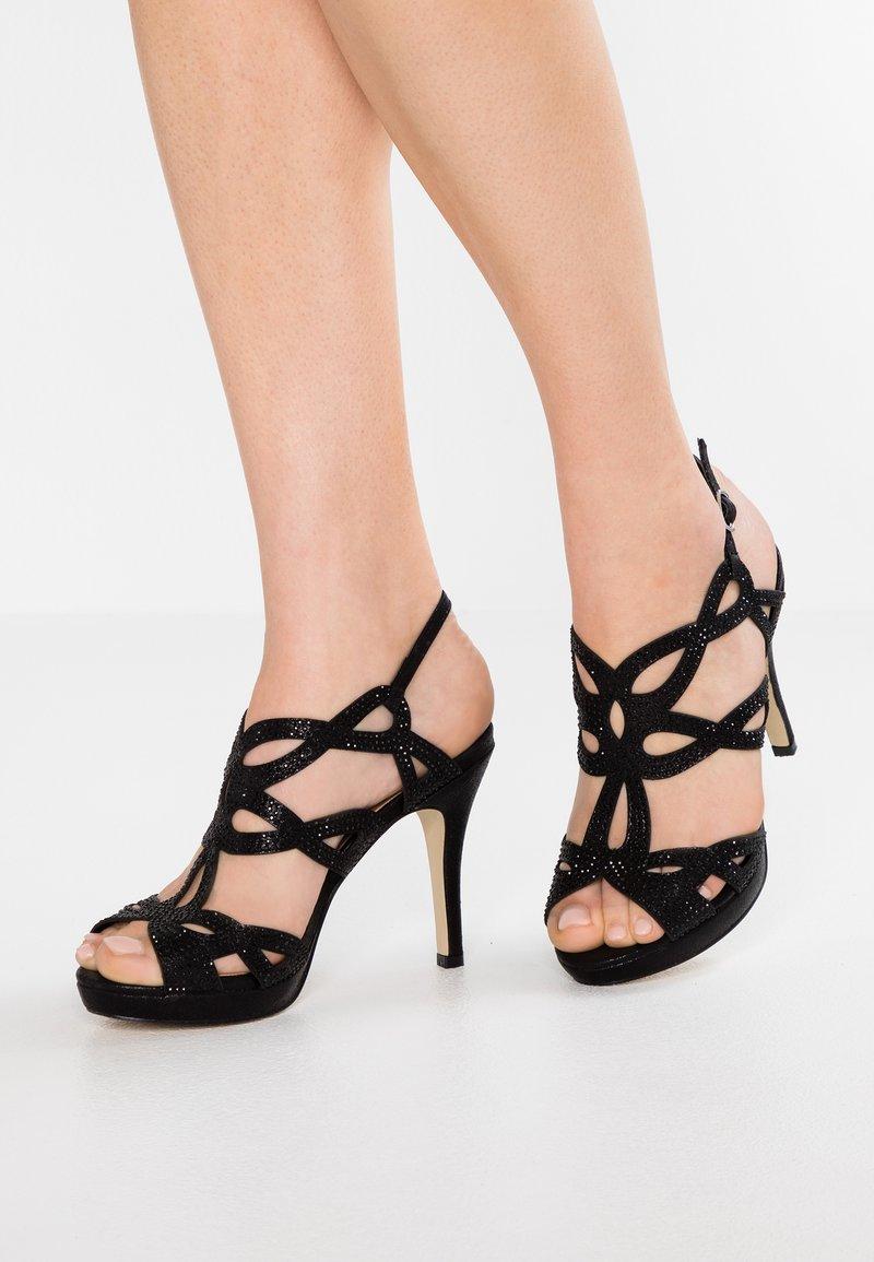 Menbur - Højhælede sandaletter / Højhælede sandaler - black