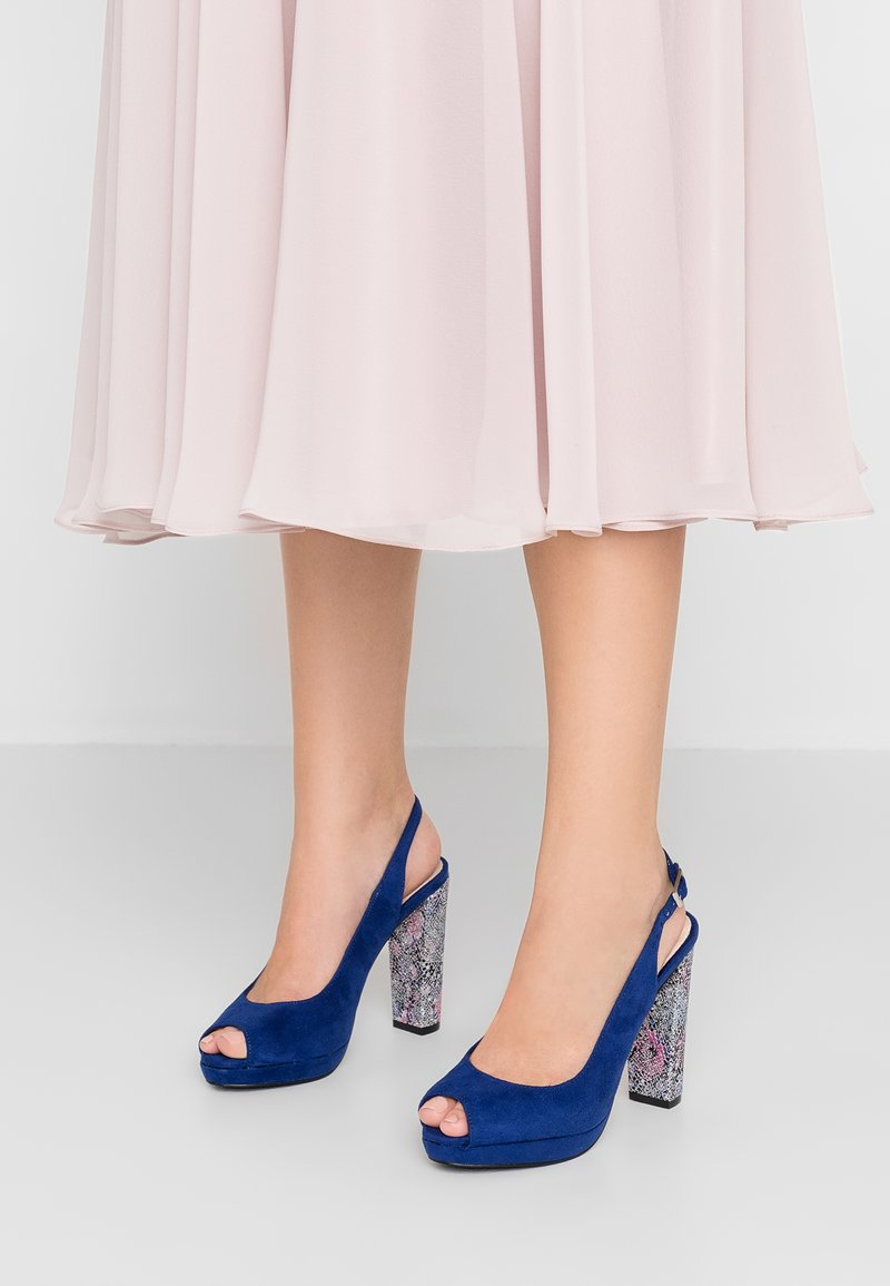 Menbur - High Heel Sandalette - dazzling blue