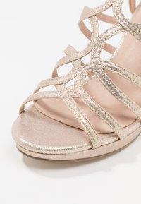 Menbur - High heeled sandals - stone - 2