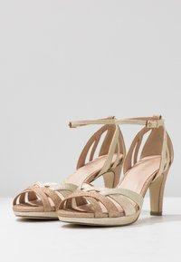 Menbur - High heeled sandals - sand - 4