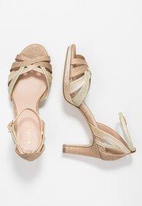 Menbur - High heeled sandals - sand - 3