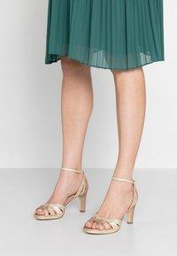 Menbur - High heeled sandals - sand - 0