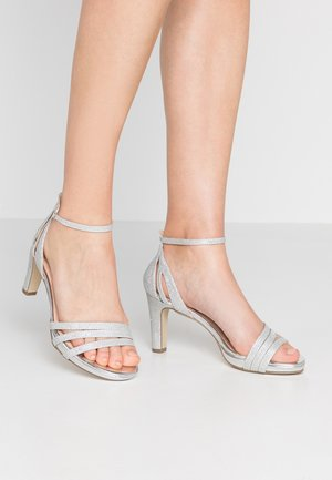 Højhælede sandaletter / Højhælede sandaler - plata