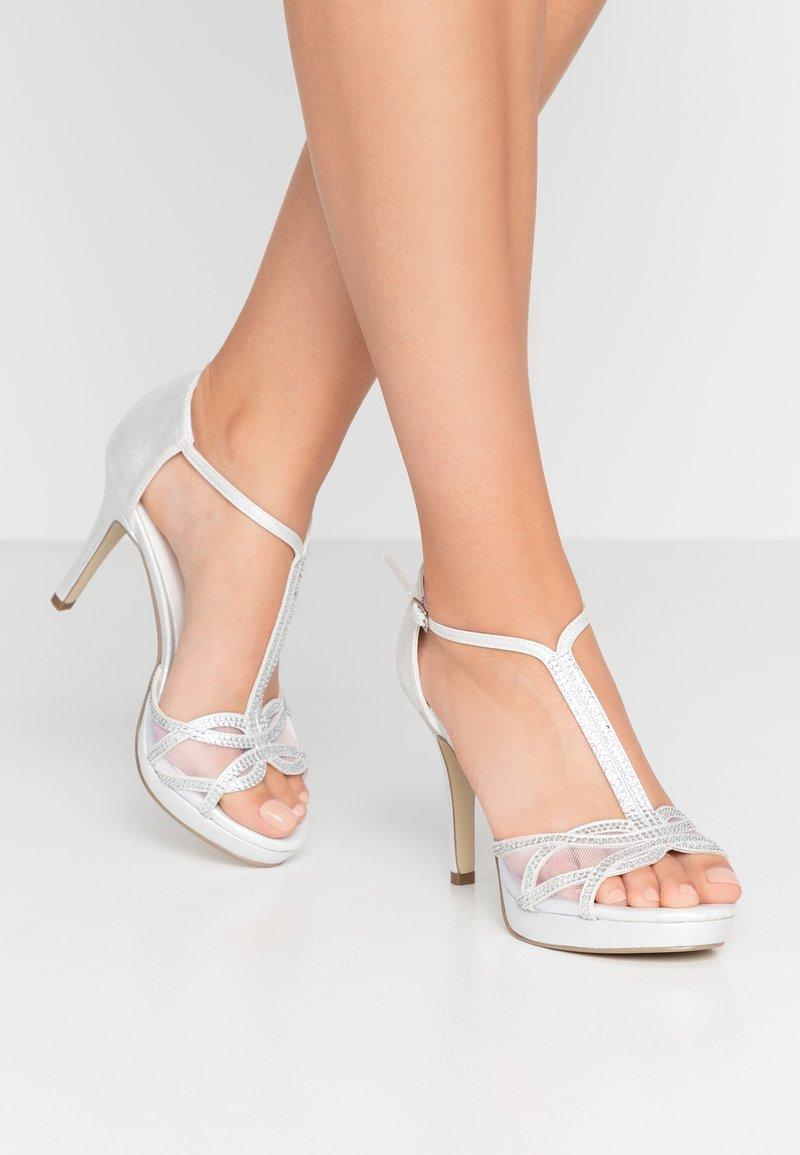 Menbur - Sandaler med høye hæler - marfil