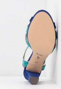 Menbur - High Heel Sandalette - dazzling blue - 6