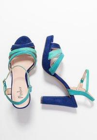 Menbur - High Heel Sandalette - dazzling blue - 3