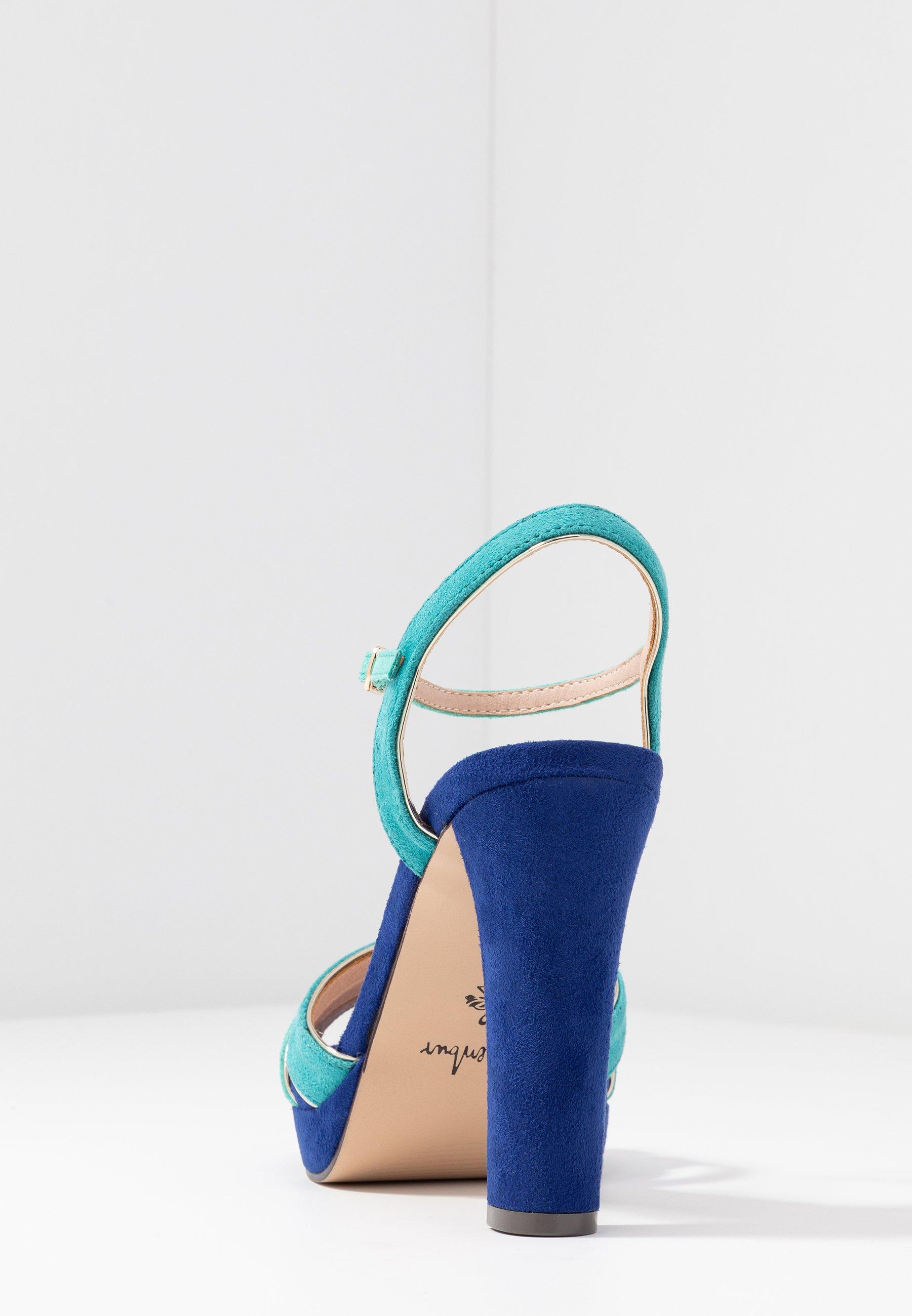 Menbur Sandali Con Tacco - Dazzling Blue Of2x0nk
