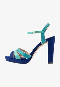 Menbur - High Heel Sandalette - dazzling blue - 1